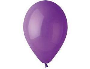 Воздушный шар без рисунка 13 см фиолетовый