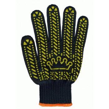 """Перчатки """"Корона"""" черные"""