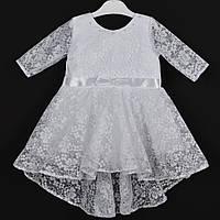 """Платье нарядное детское """"Эльза"""" 1.5-2 года. Белое. Оптом и в розницу, фото 1"""