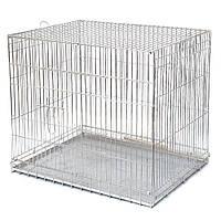 Клітка для утримання і перевезення тварин і птахів (універсальна)(розкладна)
