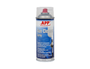Средство для чистки пистолетов и остатков лака Gun Cleaner APP, 400 мл Аэрозоль