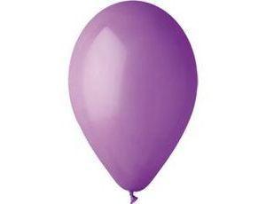 Воздушный шар без рисунка 26 см лаванда