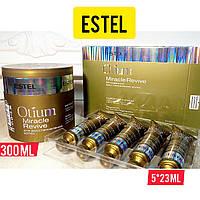 Набор для восстановления волос Estel Otium Miracle Revive сыворотка-вуаль и маска(5*23мл+300мл)