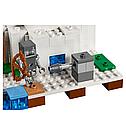 """Конструктор Bela Майнкрафт Полярное иглу аналог Lego Minecraft """"Домик для рыбалки"""" 284 детали scs, фото 4"""