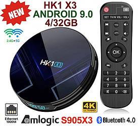TV-Приставка HK1 X3 4GB/32GB S905X3 (Android Smart TV Box)