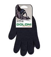 Перчатки ХБ DOLONI  без ПВХ (Утепленная)