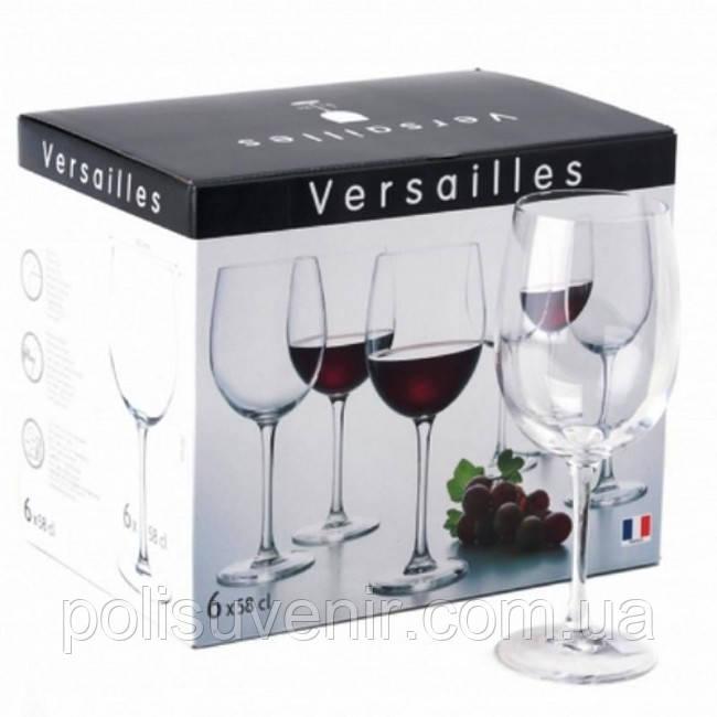 Набір келихів для вина 360 мл Версаль 6 шт