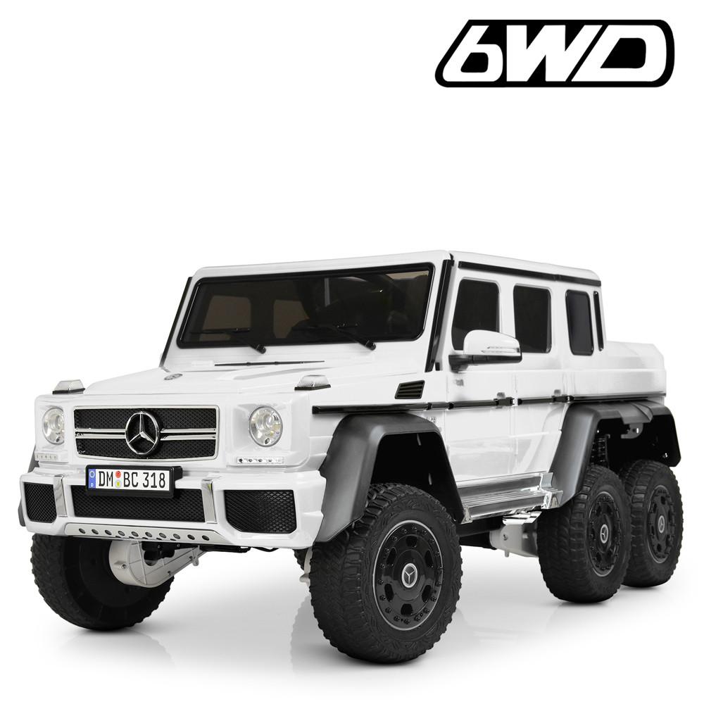 Детский электромобиль Mercedes Benz AMG 6WD M 4211EBLR-1 белый