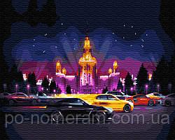 Картина по номерам BrushMe Ночная жизнь (BK-GX28903) 40 х 50 см (Без коробки)