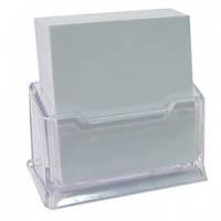 Подставка для бумаг или визиток прозрачная 94х23 мм SK NS-02