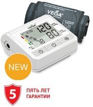 Автоматический тонометр на плечо VEGA- VA-340 индикатор аритмии манжета 22-40 см.