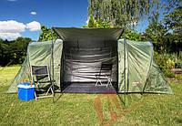 Палатка туристическая Abarqs Gobi-4 двухкомнатная проклеенные швы, фото 1