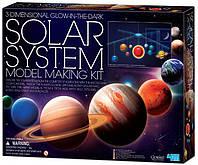 3D модель Солнечной системы. 4М