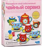 Роспись по керамике Чайный сервиз. 4М