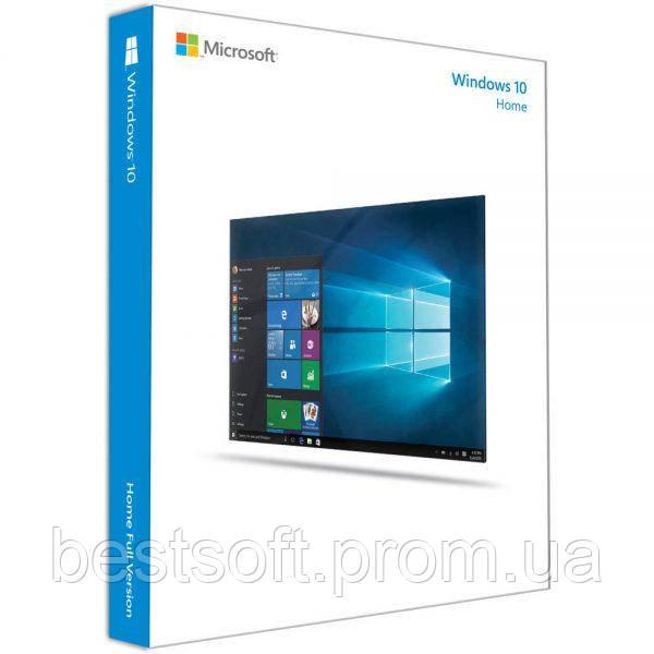 Windows 10 Домашняя, 32/64bit, BOX (коробочная)