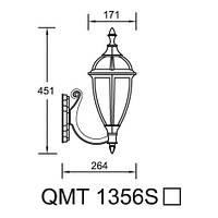 Світильник бра вуличний 1356S California I