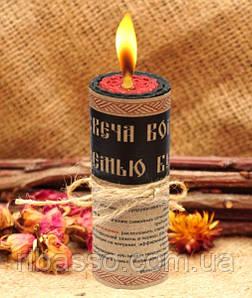 """9060078 Волшебная свеча """"Семью Берегущая"""""""