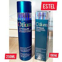 Набор от выпадения волос шампунь и  тоник- активатор Estel Professional Otium Unique(250+100)