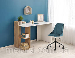 Стол письменный FINO дуб/белый (Halmar)