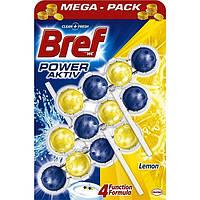 Кульки для унітазу Bref power aktiv Lemon 3x50 р