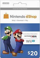 Карта поповнення Nintendo eShop Card $20 (USA)