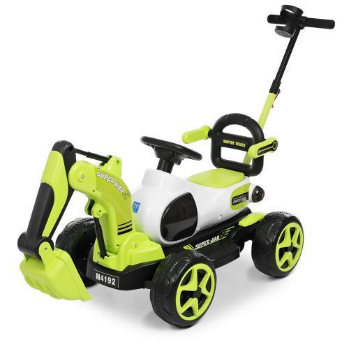 Детский трактор электромобиль M 4192-5 зеленый