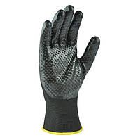 Перчатки для работ с жидкостями и маслами Doloni D-Oil черные 4522