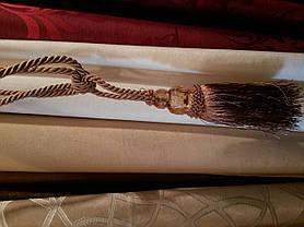 Кисти для штор №7 коричневые, подхваты (2шт), фото 3