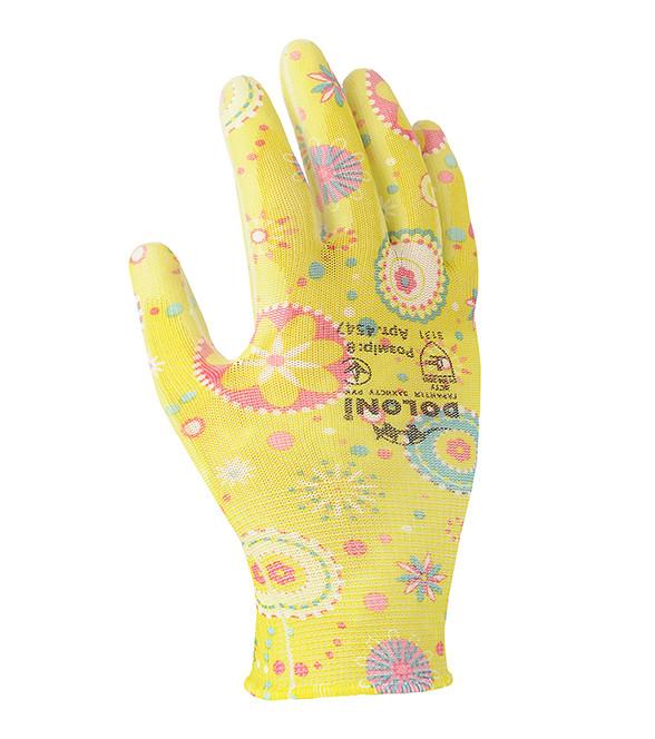 Перчатки (полиуретан) женские садовые