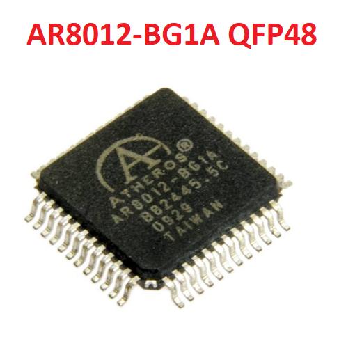 Микросхема чип Atheros AR8012-BG1A AR8012 QFP48 LAN контроллер 10/100Mbit