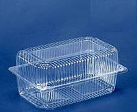 Пластиковая Упаковка Одноразовая оптом 500 штук 230*130*80мм  1500мл