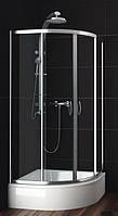 Душевая кабина SANTEH HS16-90C 90х90х213 со средним поддоном 28,5 см, прозрачное стекло 5мм