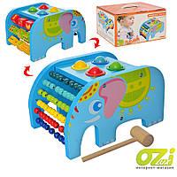 Детская деревянная развивающая игрушка MD 2263