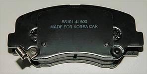 Колодки гальмівні передні HYUNDAI, KIA grog Корея