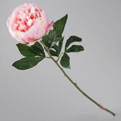 Пион розовый искусственный 71 см