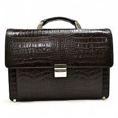 Классический кожаный портфель Karya