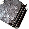 Классический кожаный портфель Karya, фото 6