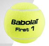 Мячи теннисные Babolat First X3 501054/113 (3 шт.), фото 10