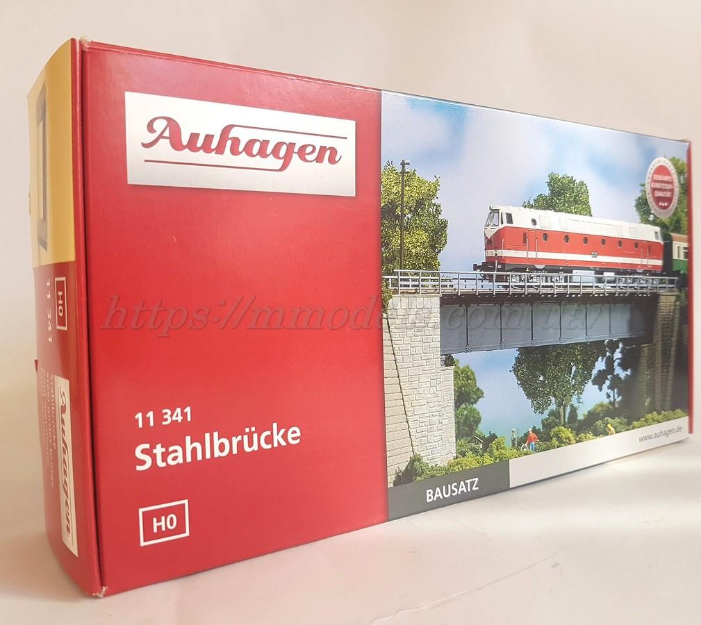 Auhagen 11341 модель стальной мост, для маштаба H0,1:87