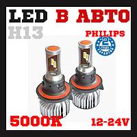 Лампы светодиодные Prime-X Z Pro Н13 5000К (2 шт.), фото 1