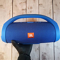 Портативная Bluetooth  колонка в стиле JBL Booms Box Big - Синяя (Реальные фото)