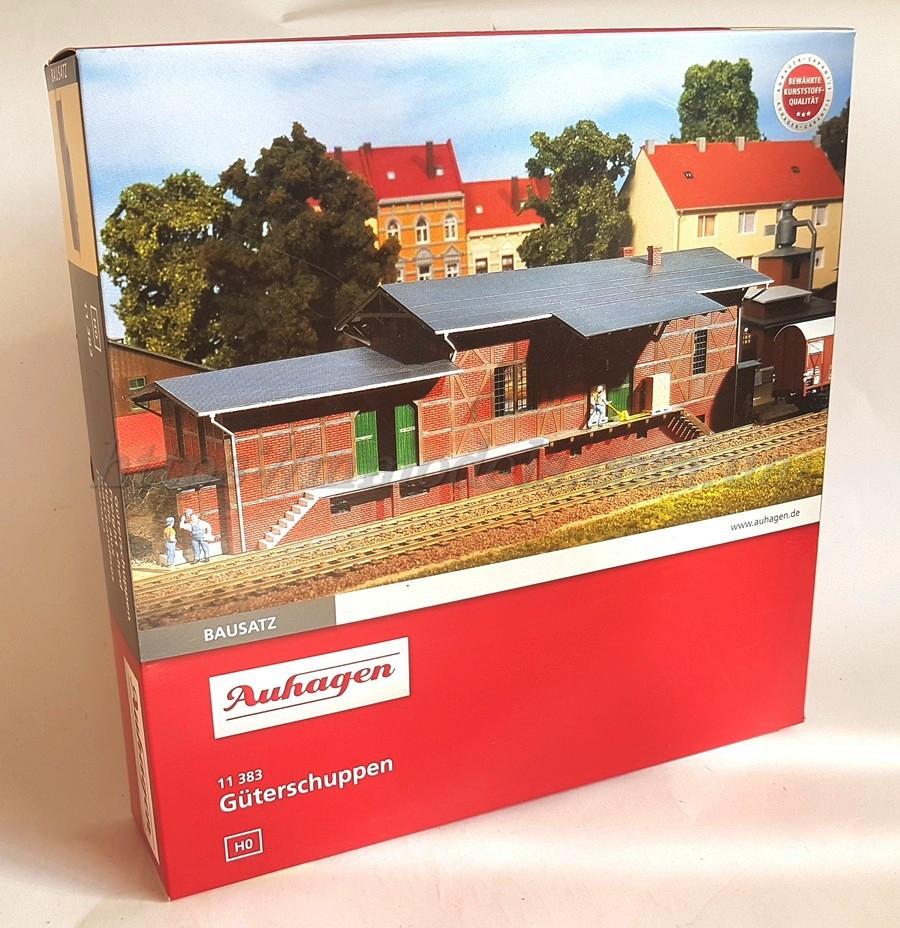 Auhagen 11383Сборная модель - пакгауз Товарный склад, для масшатаба H0 1:87