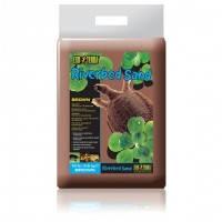 Hagen Exo Terra Riverbed Sand Brown водный коричневый песок для террариума, 4.5кг