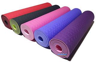 Коврики для йоги и фитнеса оптом и в розницу