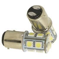 Лампы Стоп Габарит Задний ход 1156/1157 Ba15s P21W 13 LED (теплый белый)