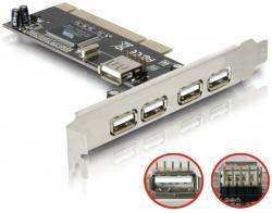 Контроллер PCI-USB 4+1 port .