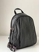 Черный рюкзак из экокожи женский городской Pretty Woman Одесса 7 км