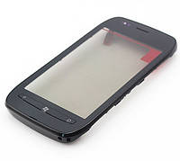 Сенсор Nokia 710 Lumia тачскрин с рамкой