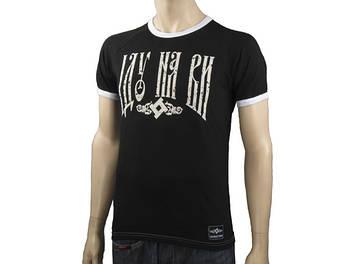 SvaStone футболка ІДУ НА ВИ черная