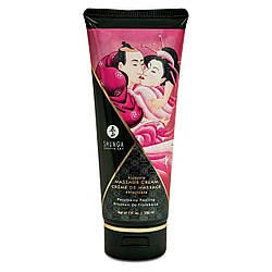 Съедобный массажный крем Shunga KISSABLE MASSAGE CREAM - Raspberry Feeling